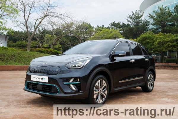 Kia Niro Crossover Facelifting Electric