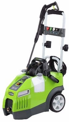 GreenWorks GPW1950 Electric Pressure Washer, 13 amp1.2 GPM